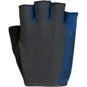 Roeckl Ios Guanti da bicicletta grigio/blu
